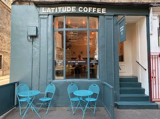 Latitude Coffee Edinburgh Princes Street And Gardens