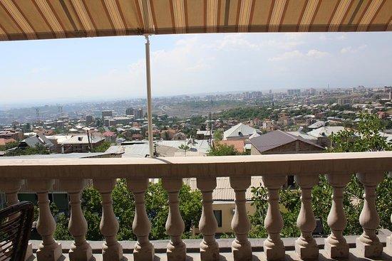 Arève Résidence Boutique Hotel: Balcony View