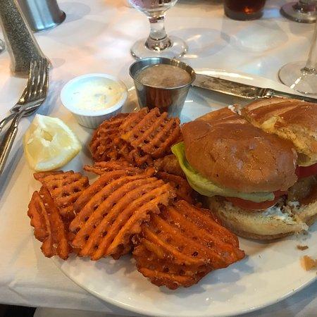 Best walleye sandwich!