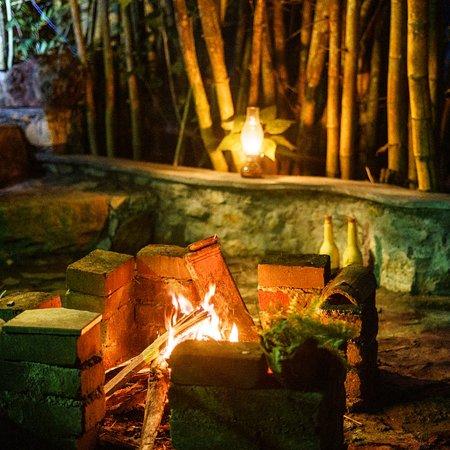 The Moksha eco villa Ella: #moksha eco villa #ella Sri Lanka # fireplace 🔥