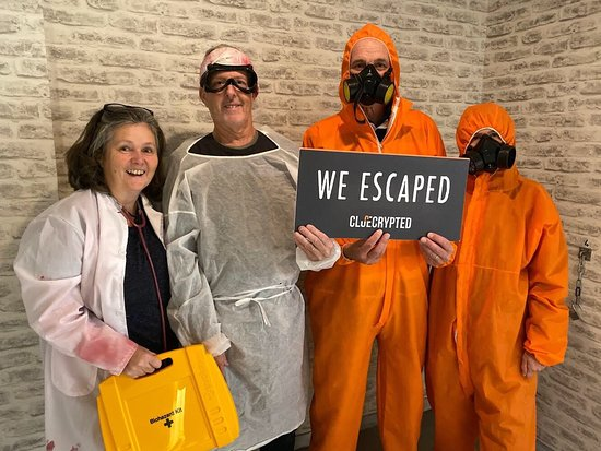 Foto de ClueCrypted Escape Room