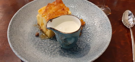 Erbistock, UK : Bread & Butter pudding