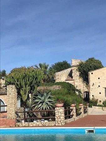 Campobello di Licata, Taliansko: View from the pool...
