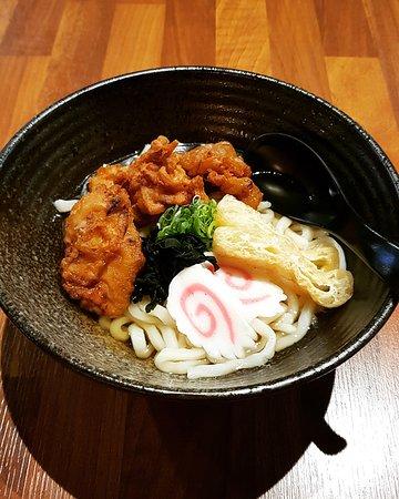 Chicken karage Udon