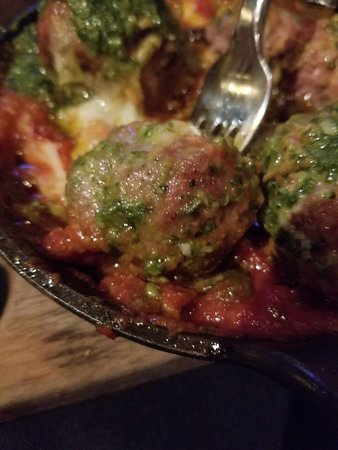 Bland Burger - Flavorful Meatballs