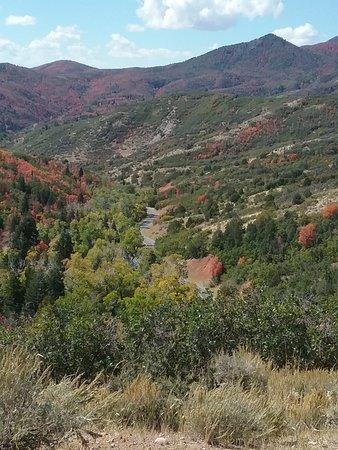 Payson, UT: An overlook along Nebo Loop, Utah.  September 27, 2019