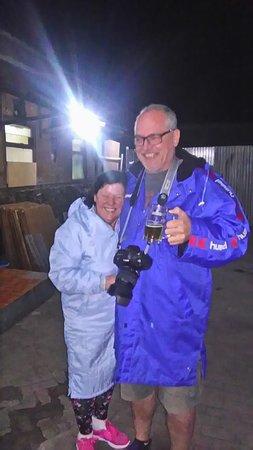 Mr Munich manager, with Mom...in Sukapura village, National Park Bromo Tengger Semeru