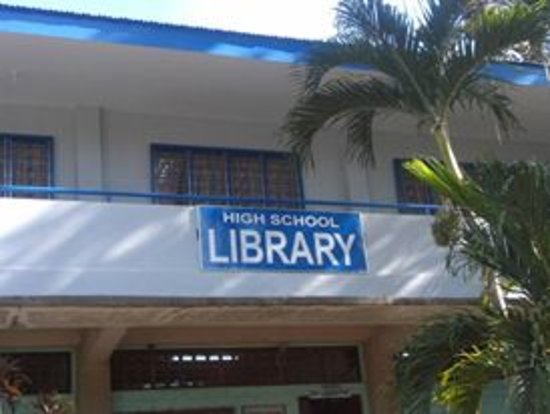 Cotabato Province, Filippinene: Southern Baptist College HS Library Mlang, Cotabato