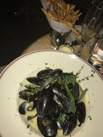 Moulles Frites- delish!