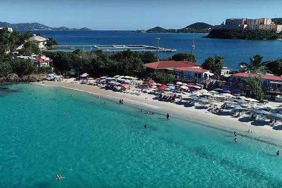 Coki Beach med tur-retur transport