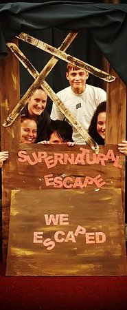 Fantastic escape room!