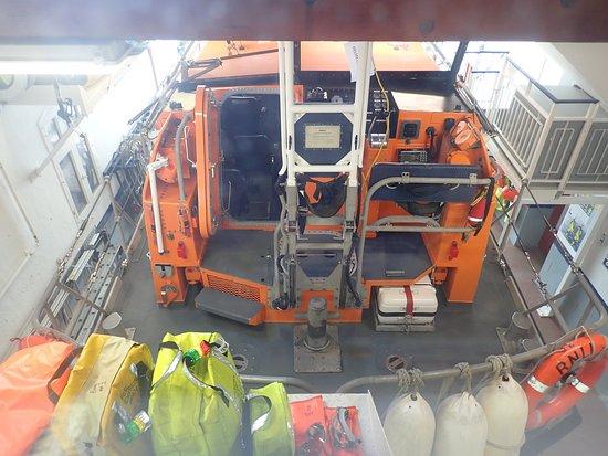 Anstruther Lifeboat Station: Das Einsatzboot.