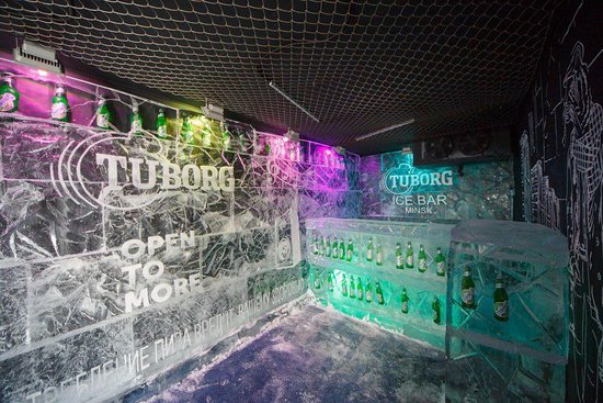 Tuborg Ice Bar