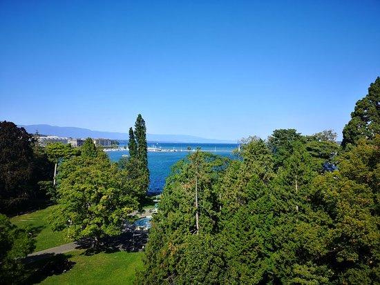 Great view of lake geneva
