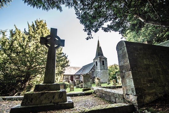 Penicuik, UK: Glencorse Old Kirk