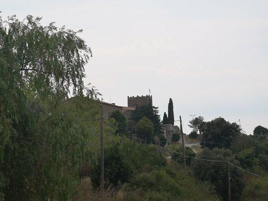 Viver, España: Vistas desde el balcón del restaurante