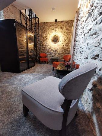 Hastière, Belgia: Espace bar cosy