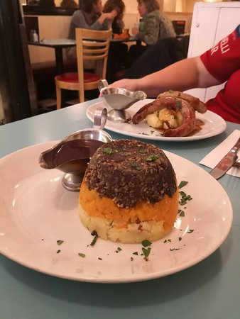 Mums Great Comfort Food - Haggis Supper
