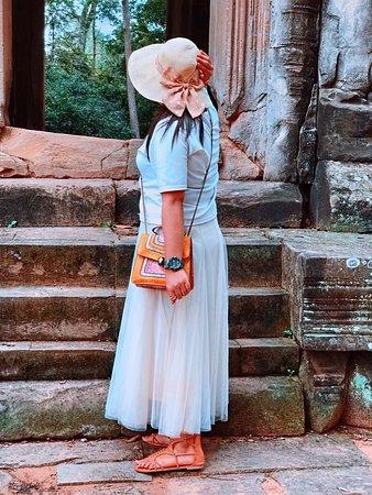 Angkor Thom ❤️ is beautiful day🇰🇭🤣