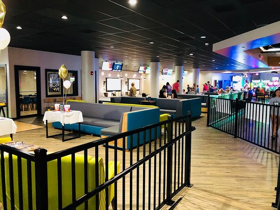 Our bowling area!