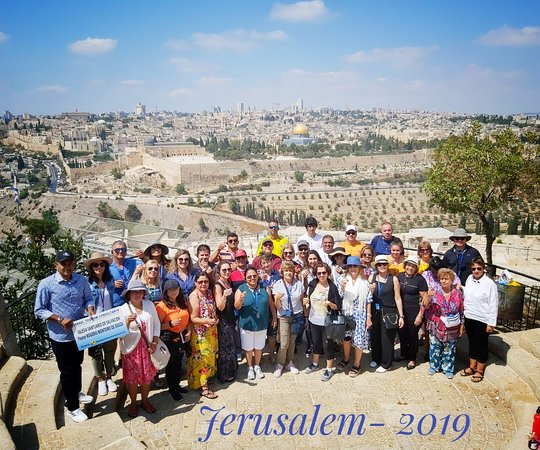 8 Days Footsteps of Christ Holy Land Tour to Israel: Touring Jerusalem on the Footsteps of Christ tour.