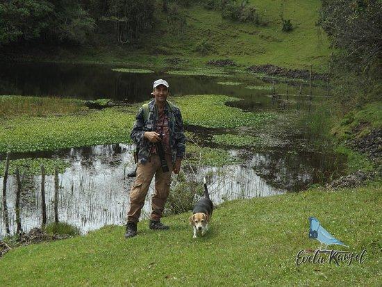 Mutiscua, Колумбия: laguna  rabicha 2700 msnm con samanta .