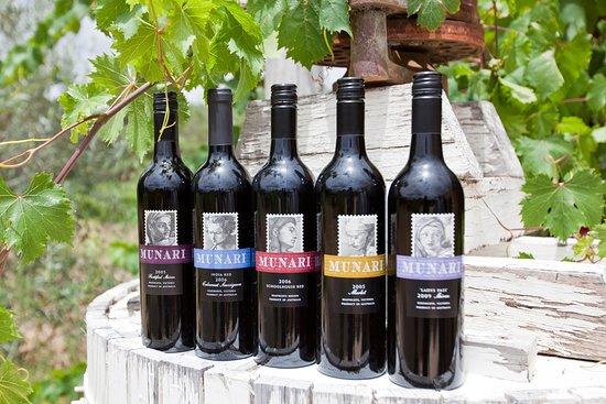 The wine range