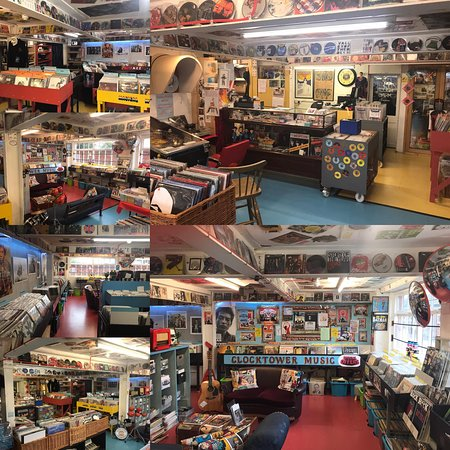 One of the Top 50 fun record shops in the Galaxy? We offer NEW VINYL releases and re-issues alongside buying and selling all styles and types of your pre-loved VINYL RECORDS and CDs - Abba to Zappa. Open Monday to Saturday, 10 till 5  in Bridport's Historic Industrial & Vintage Area at 10a St Michaels Estate, DT6 3RR  just 5 minutes walk from the Bridport Town Centre. If Broadchurch had a Record Shop it would probably be us. Traveling a distance to see us please do ring 01308 458077 first.