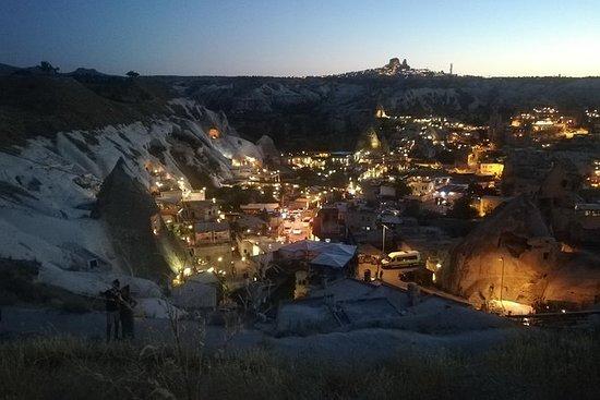 Espectáculo nocturno turco Capadocia...