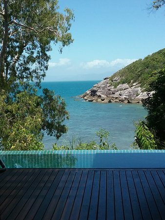 View from Pavilion plunge pool