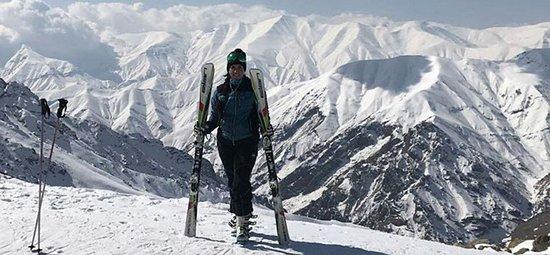 Tehran Province, อิหร่าน: Ski in Shemshak Resort , north of Tehran