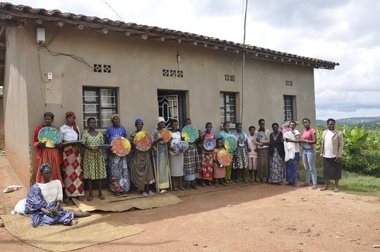 Our 2nd group. of weavers in Muhanga