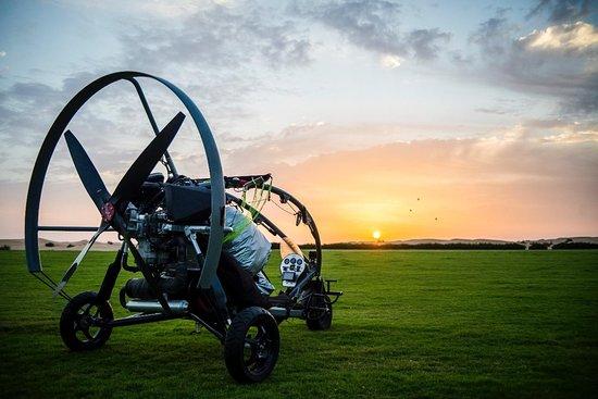 Paramotor Desert Adventure