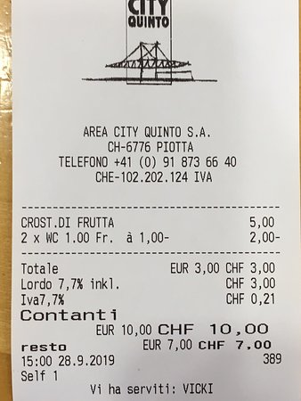 Piotta, İsviçre: City Quinto