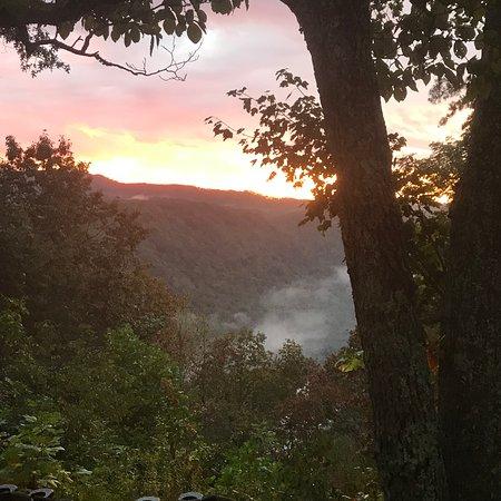 Sunset behind chettys