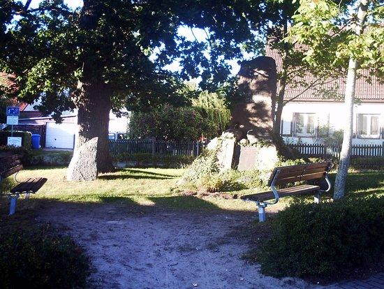 Kriegerdenkmal fur die toten Soldaten des 1. Weltkriegs