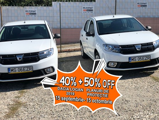 Targu Mures, Rumania: 40% OFF the new Dacia Logan and 50% OFF Protections Plans!!