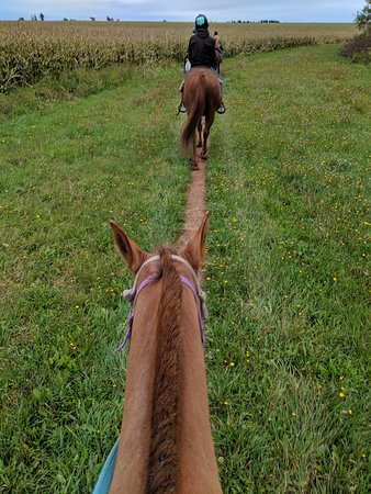 Friendly people and peaceful trail ride