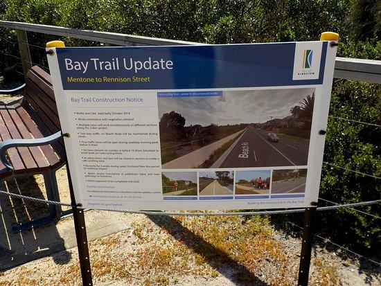 Бейсайд, Австралия: Bay Trail Update