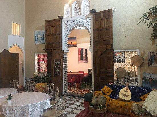 Dar El Medina: Ingresso e sala da pranzo