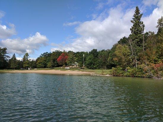 Lupton, MI: Grousehaven Lake