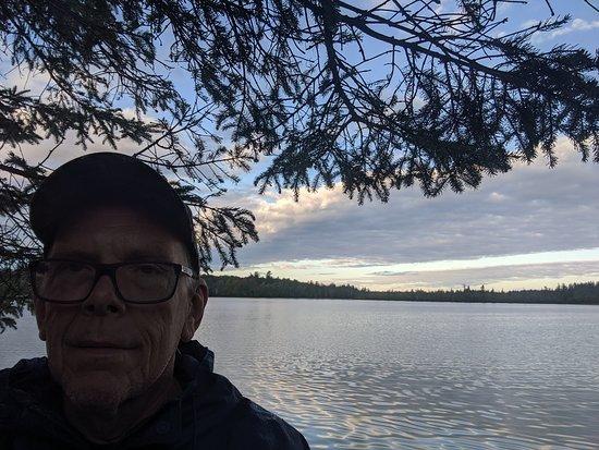 Lupton, MI: quiet morning walk
