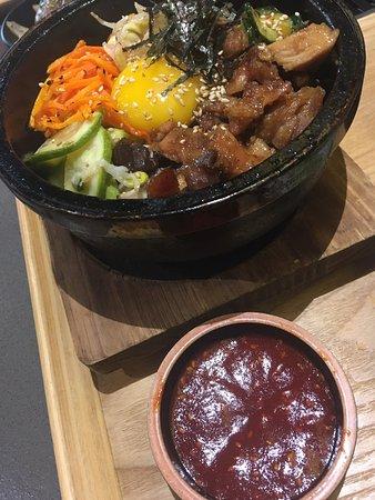 豐盛可口的韓式日式fusion午餐