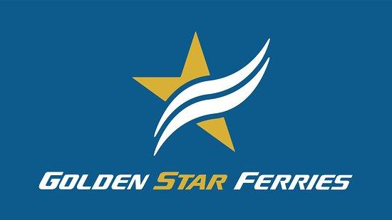 Rafina, Greece: GOLDEN STAR FERRIES - LOGOTYPE