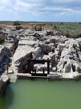 Bet Hananya, Israël: Taninim Nature Reserve - restored Roman-Byzantine grain mill area