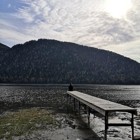 Lake Teletskoye, Rosja: Берег озера Телецкое