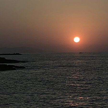 Kingsbury, UK:  Sunset at Gouves Crete