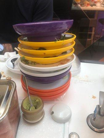 Yo! Sushi - Harvey Nichols – fotografija