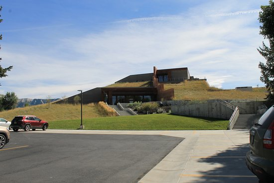 Big Horn, WY: Rammed earth museum