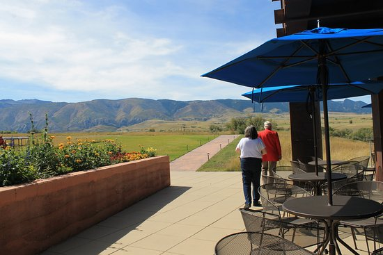 Big Horn, WY: View from patio at top of museum